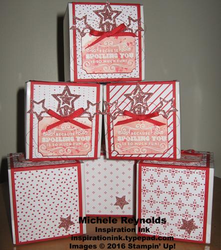 Carousel birthday spoiling you boxes