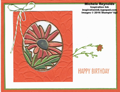 That's the tag stained glass flower watermark
