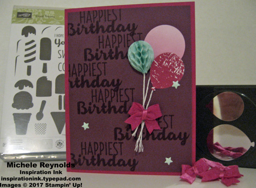 Cool treat balloon bouquet watermark