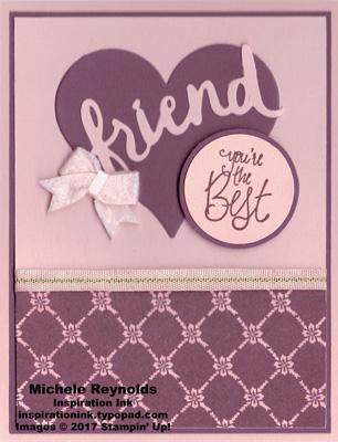 Label me pretty best friend heart watermark