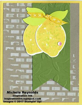 Lemon zest thumped lemons watermark