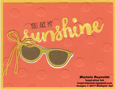 Pocketful of sunshine sunny sunglasses watermark