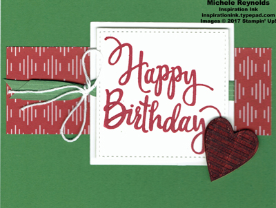 Stylized birthday be merry strip watermark