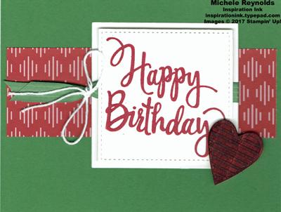 Stylized birthday be merry strip watermark