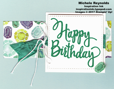 Stylized birthday naturally eclectic strip watermark