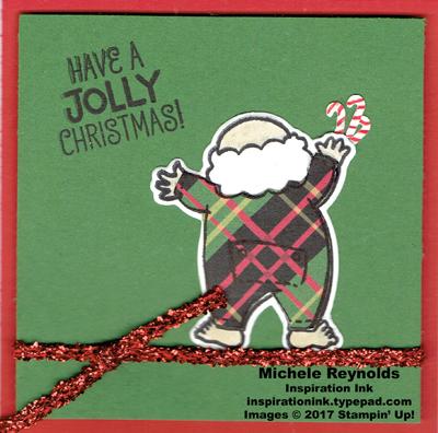 Santa's suit santa's plaid underwear watermark