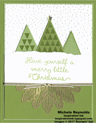 Christmas quilt triangle trees watermark