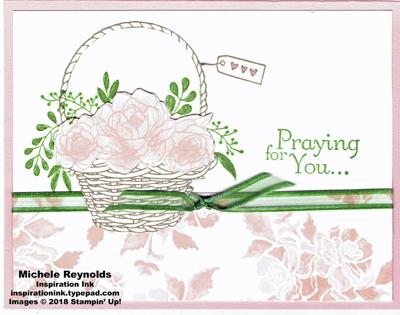 Blossoming basket pieced basket prayers watermark