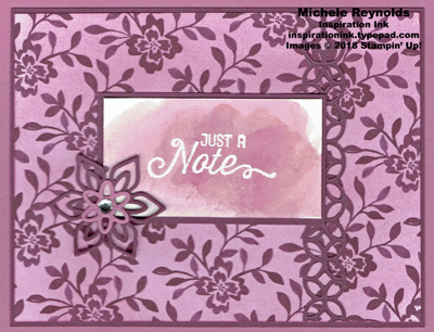 Flourishing phrases sugarplum fig note watermark
