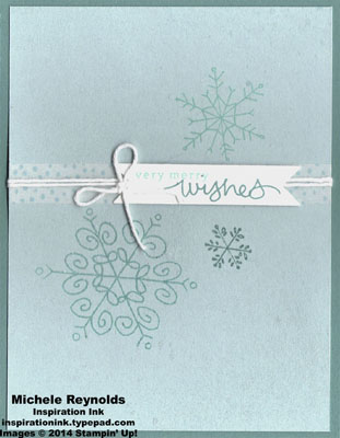 Endless wishes snowflake trio watermark