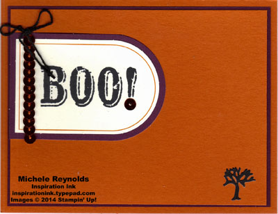 Boo-tiful bags kit boo tree watermark