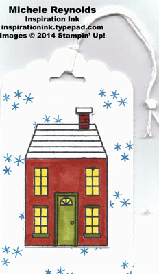 Holiday home house tag watermark