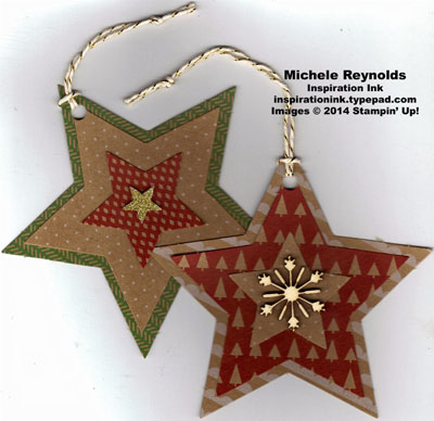 Many merry stars kit star tags watermark