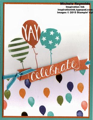 Balloon bash trio celebration watermark