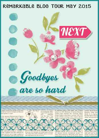 GOODBYES blog tour button