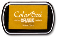 Yellow citrus colorbox pad