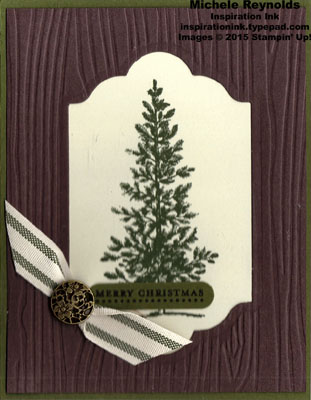 Lovely as a tree framed pine christmas watermark