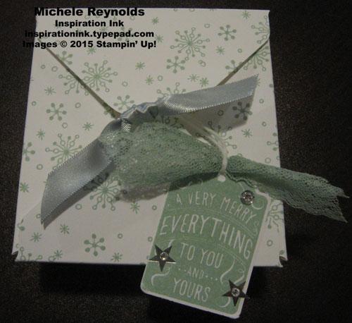Merry everything snowflake box watermark