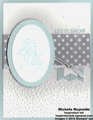 Sparkly seasons let it snow snowman watermark