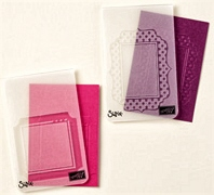 Fun frames embossing folders