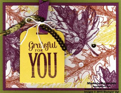 Vintage leaves grateful leaves watermark