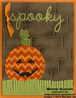 Sparkly seasons spooky jack o lantern watermark