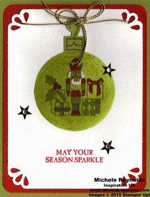 Sparkly seasons nutcracker ornament watermark