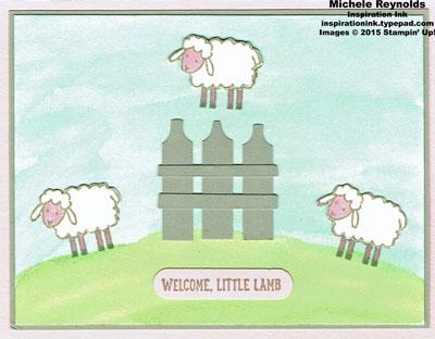 Barnyard babies jumping for joy lambs watermark