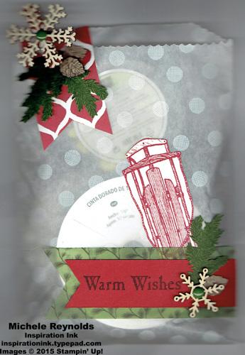 Winter wishes gift bag watermark