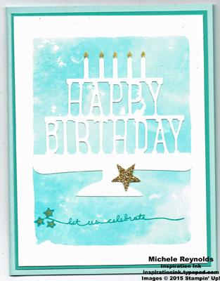 Balloon celebration watercolor cake watermark