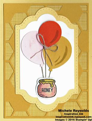 Bear hugs floating honey pot watermark