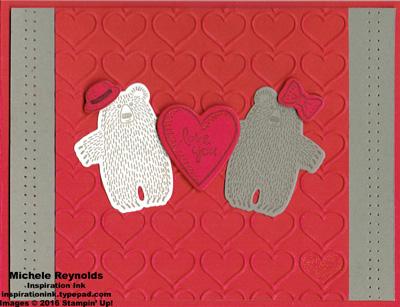 Bear hugs little bears love watermark