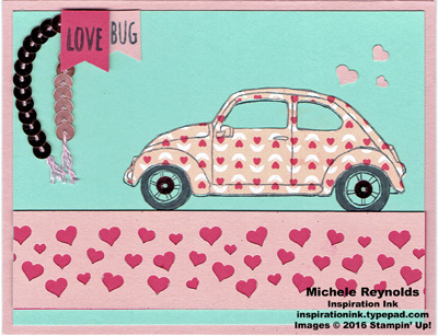 Beautiful ride love bug watermark