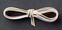 Gold thin ribbon