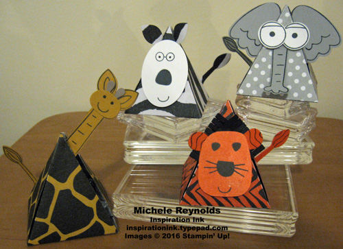 Playful pals animal boxes