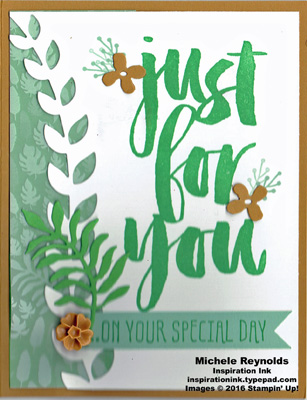Botanicals for you spring greens watermark