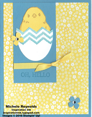Honeycomb happiness hello hatching chick watermark