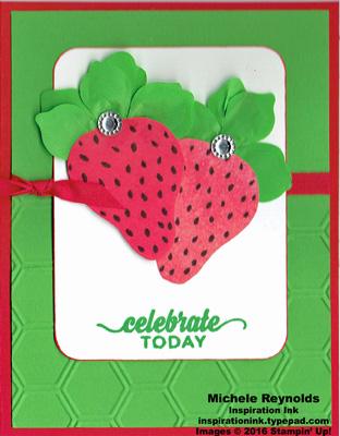 Apple of my eye celebrate strawberries watermark