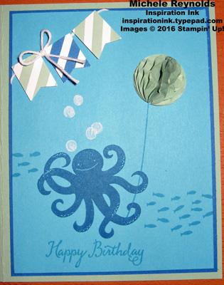Sea street balloon octopus