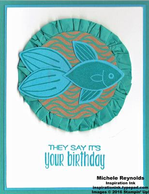 Friends & flowers fighting fish birthday watermark