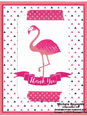 Pop of paradise flamingo thanks watermark