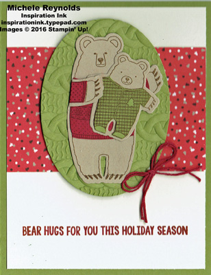 Falalala friends cozy bear hugs watermark