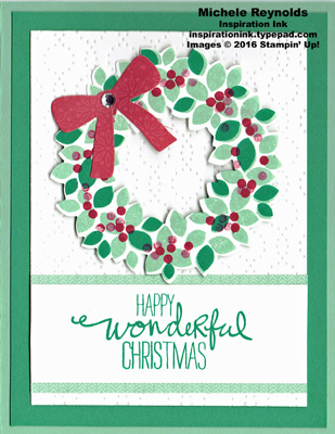 Wondrous wreath red bow wreath watermark