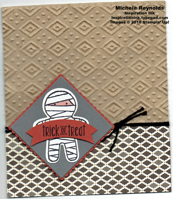 Spooky fun mummy treat bag watermark