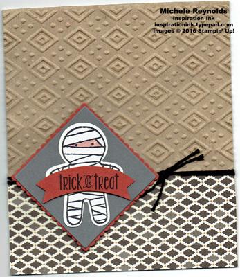 Spooky fun mummy treat bag watermark