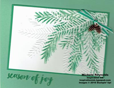 Christmas pines tilted pines watermark