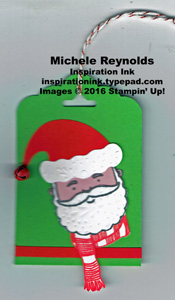 Jolly friends santa tag watermark
