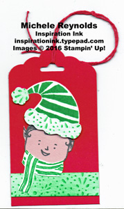 Jolly friends elf tag watermark
