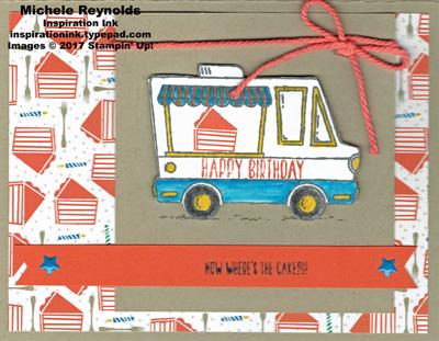 Tasty trucks cake truck birthday watermark