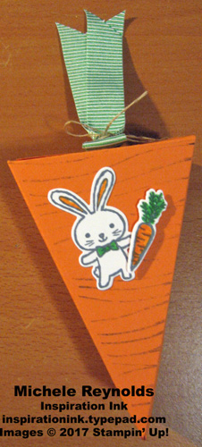 Basket bunch carrot box